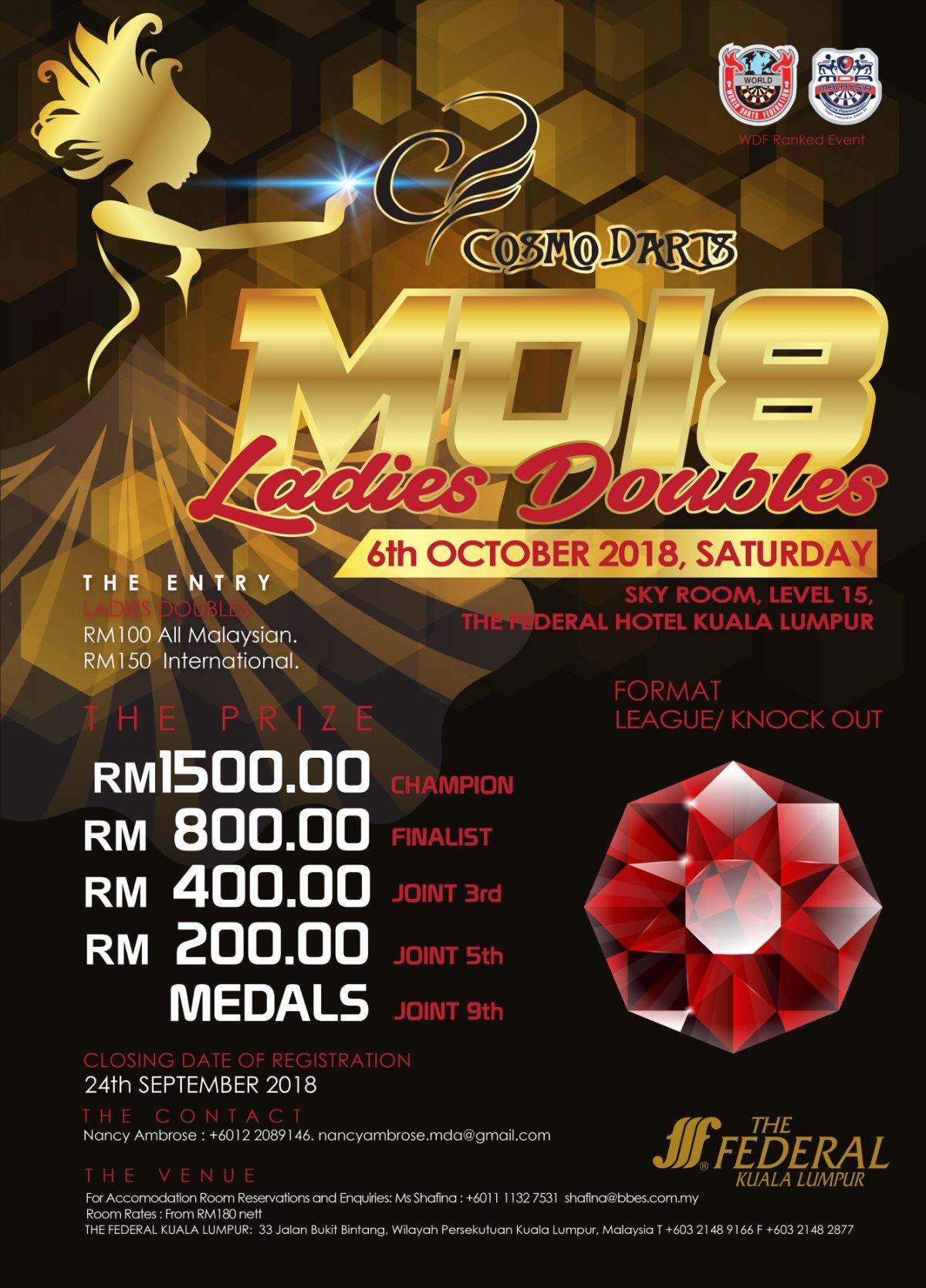 MO18 Ladies Doubles